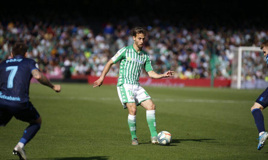 Real Betis 3 – 0 Real Sociedad (1×1) Canales lidera al Betis en su mejor partido de la temporada