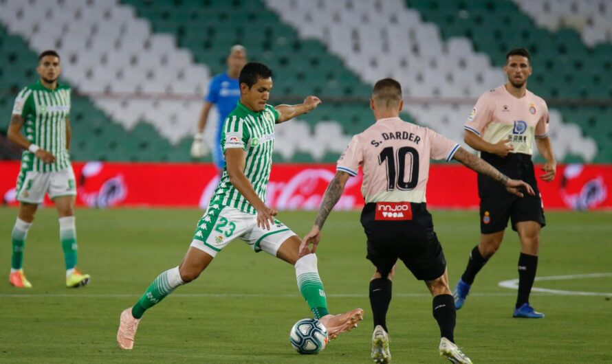 Real Betis 1-0 Espanyol: Alivio para un Betis que no mejora las sensaciones