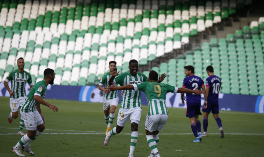 Real Betis 2-0 Real Valladolid: Estreno en el Villamarín con victoria verdiblanca