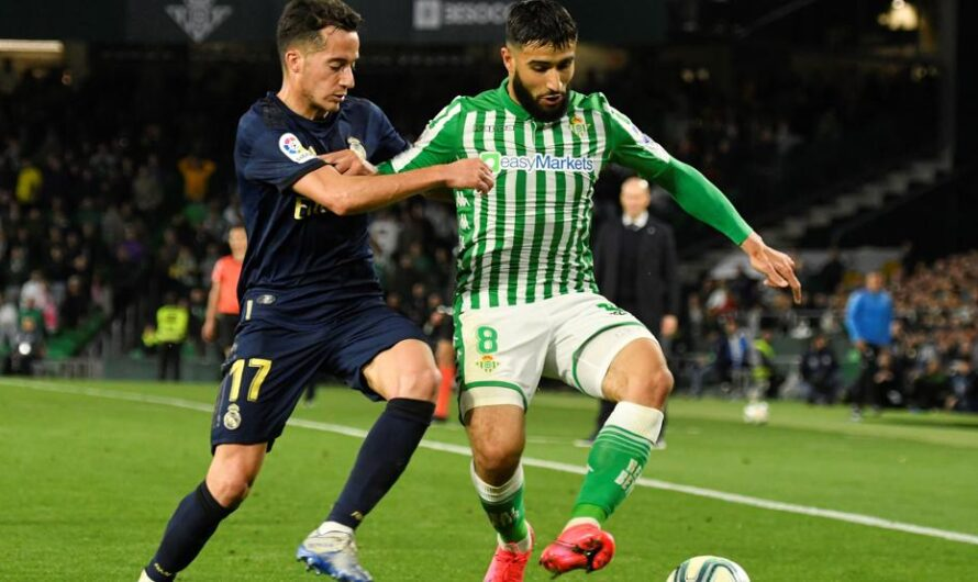 El Real Betis ha puntuado un 68,75% como local frente al Real Madrid
