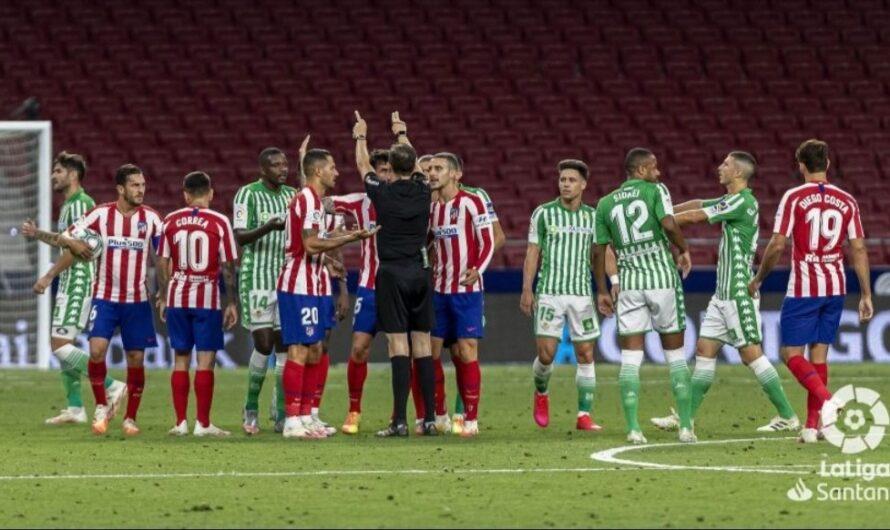 El Real Betis, uno de los equipos más perjudicado por los árbitros