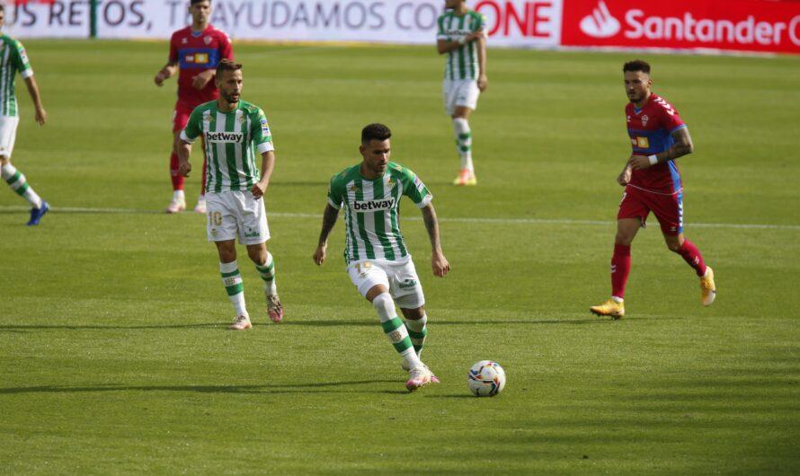 Real Betis 3-1 Elche: Goleada bética para volver a la senda de la victoria