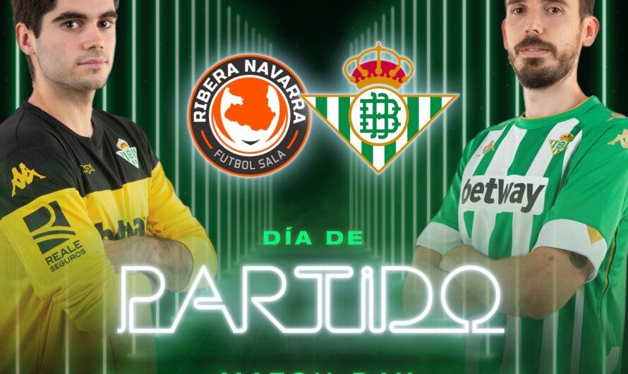 Ribera Navarra – Real Betis Futsal: A seguir en la senda de la victoria
