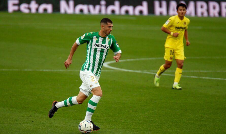 Real Betis Balompié 1-1 Villarreal CF (1×1) Capaz de rehacerse y sumar
