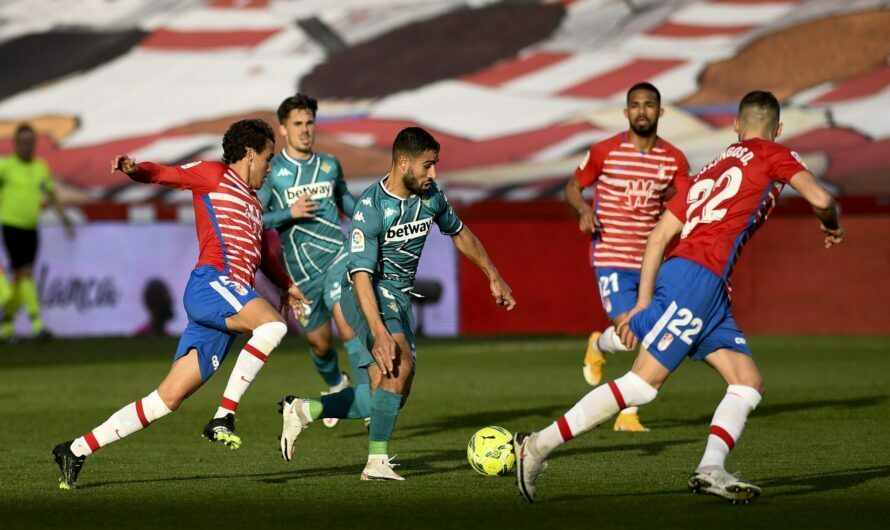 Granada CF 2-0 Real Betis Balompié (1×1) Los fallos condenan al equipo