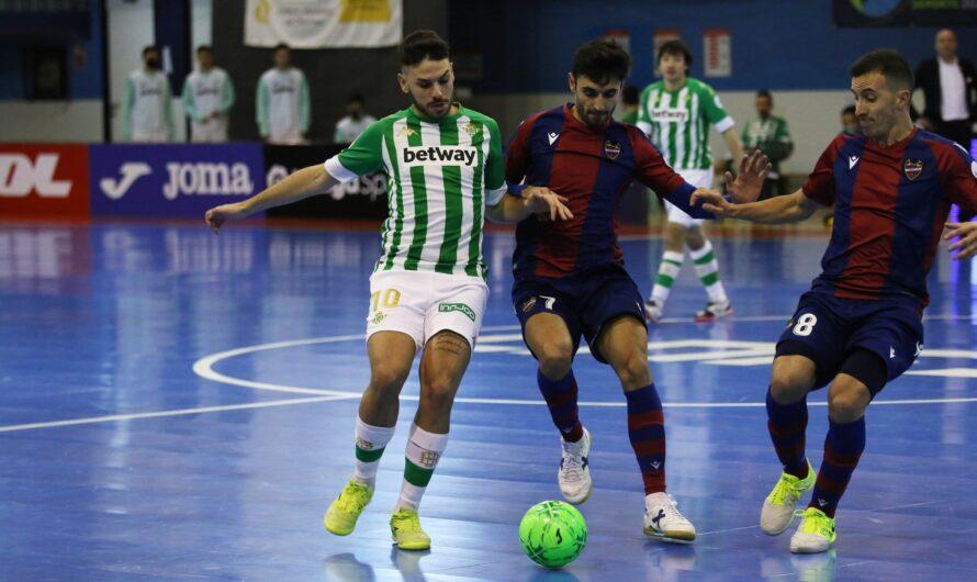 Real Betis Futsal 2 – 2 Levante FS: Reparto de puntos en Amate