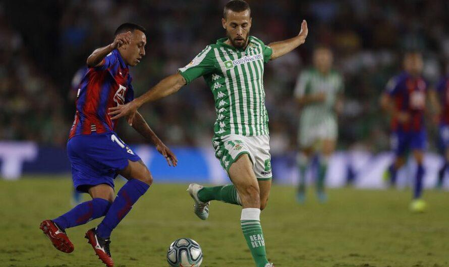 El Real Betis ha puntuado un 67% en los últimos seis partidos contra el Eibar