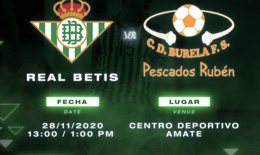 Previa Real Betis Futsal – Burela FS: A olvidar el tropiezo en Copa