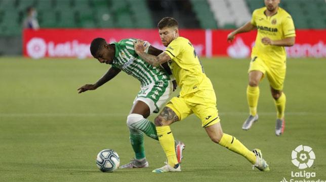 El Real Betis ha puntuado más como local ante el Villarreal C.F