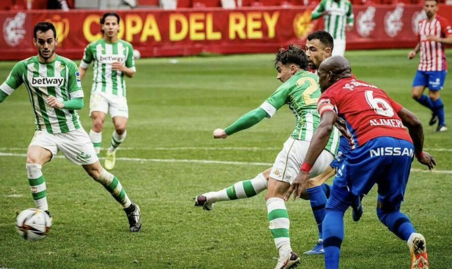 Crónica/ Real Betis 2-0 Sporting de Gijón: El Betis liquida su pase de ronda en 45 minutos